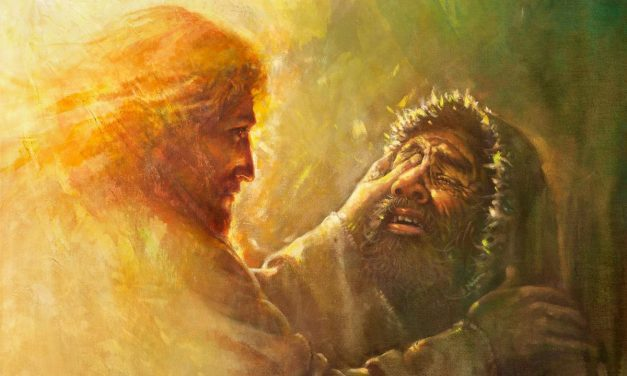 Did Jesus Heal A Blind Man?