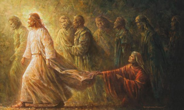 Jesus Heals the Woman with an Issue of Blood