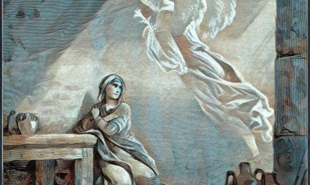 The Angel Gabriel Visits Mary