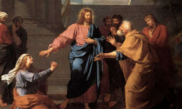 A Canaanite Woman Is Healed