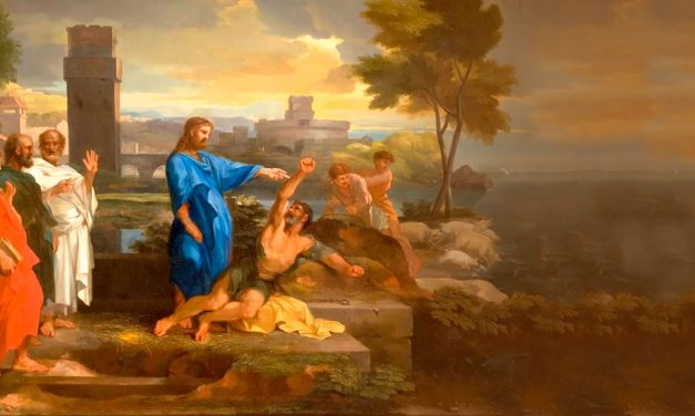 Jesus Casts Out Devils