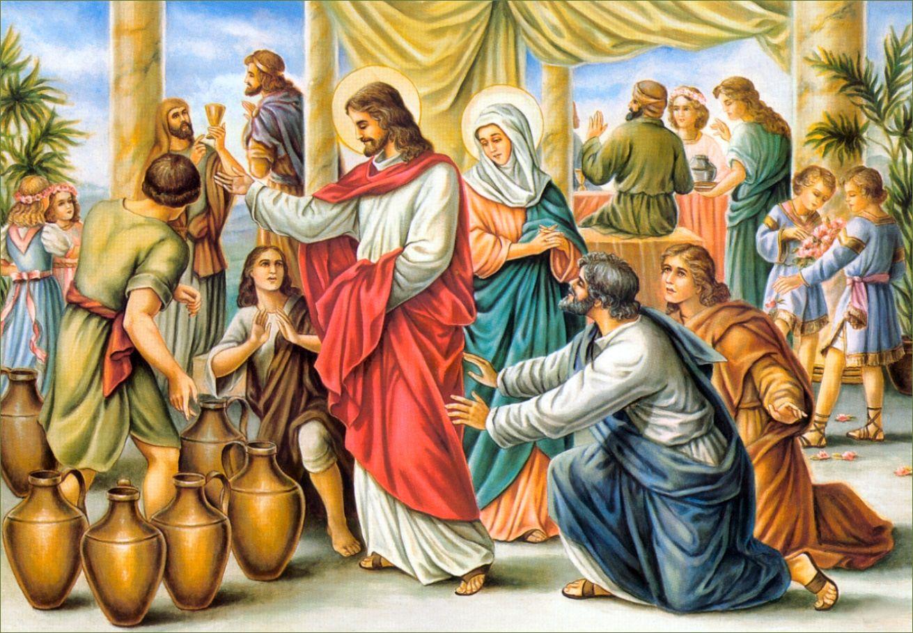 When Jesus Turned Water into Wine - Jesus.Christ.org