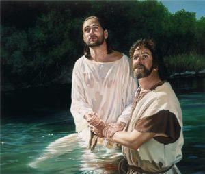 Jesus Batized