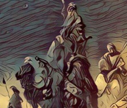 The Wisemen Visit Jesus