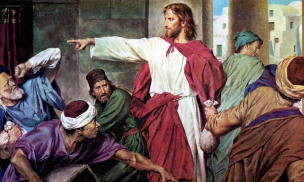 Jesus Cleansed the Temple: Respect for Sacred Things?