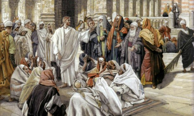 The Scribes and Pharisees Are Reproved