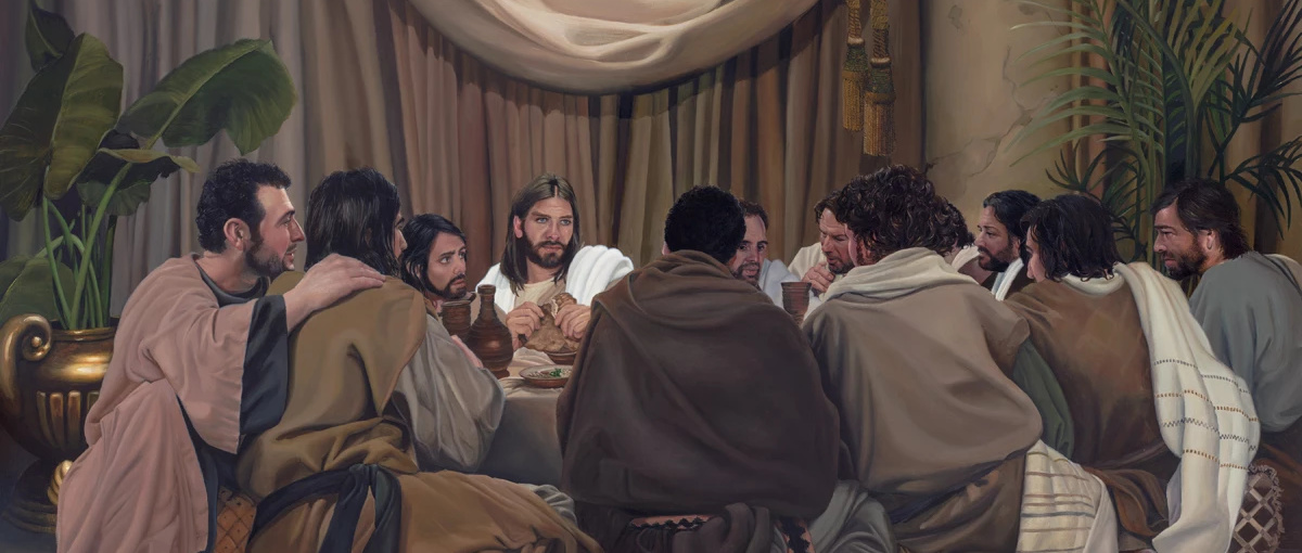 What Jesus taught at the Last Supper