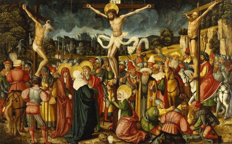 Why did God abandon Jesus on the cross?