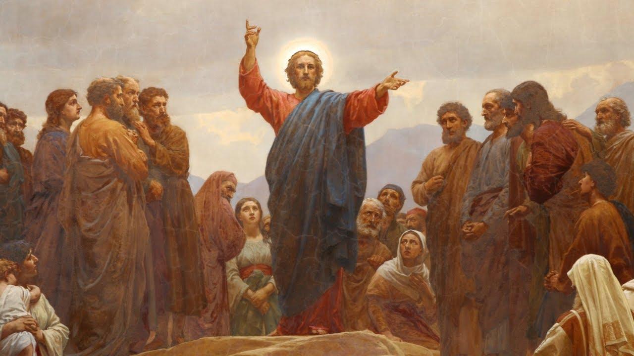 Jesus Teaches the Sermon on the Mount
