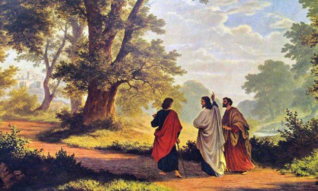 Jesus calls Andrew, Simon, Philip and Nathaniel