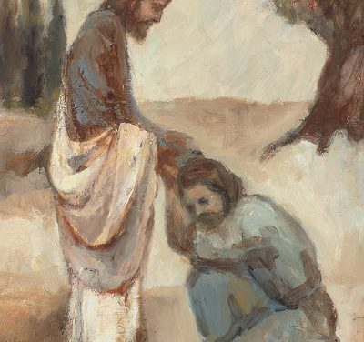 A Man With Dropsy Is Healed
