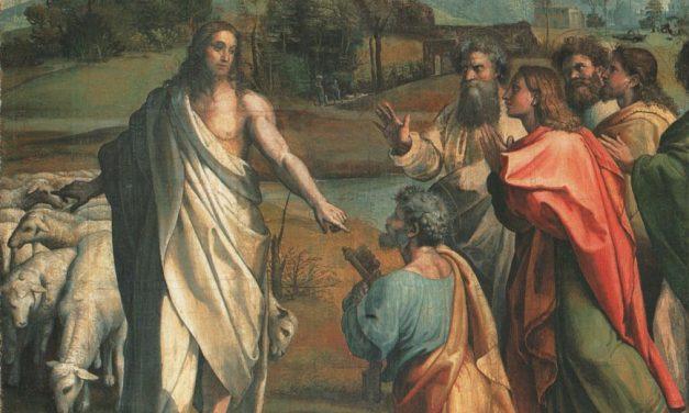 Jesus Rebukes the Pharisees