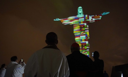 Christ the Redeemer Statue Transformed into Tribute for Nations Affected by COVID-19
