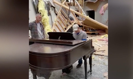 Two Church Pianos Bring Hope and Comfort in Tornado Aftermath